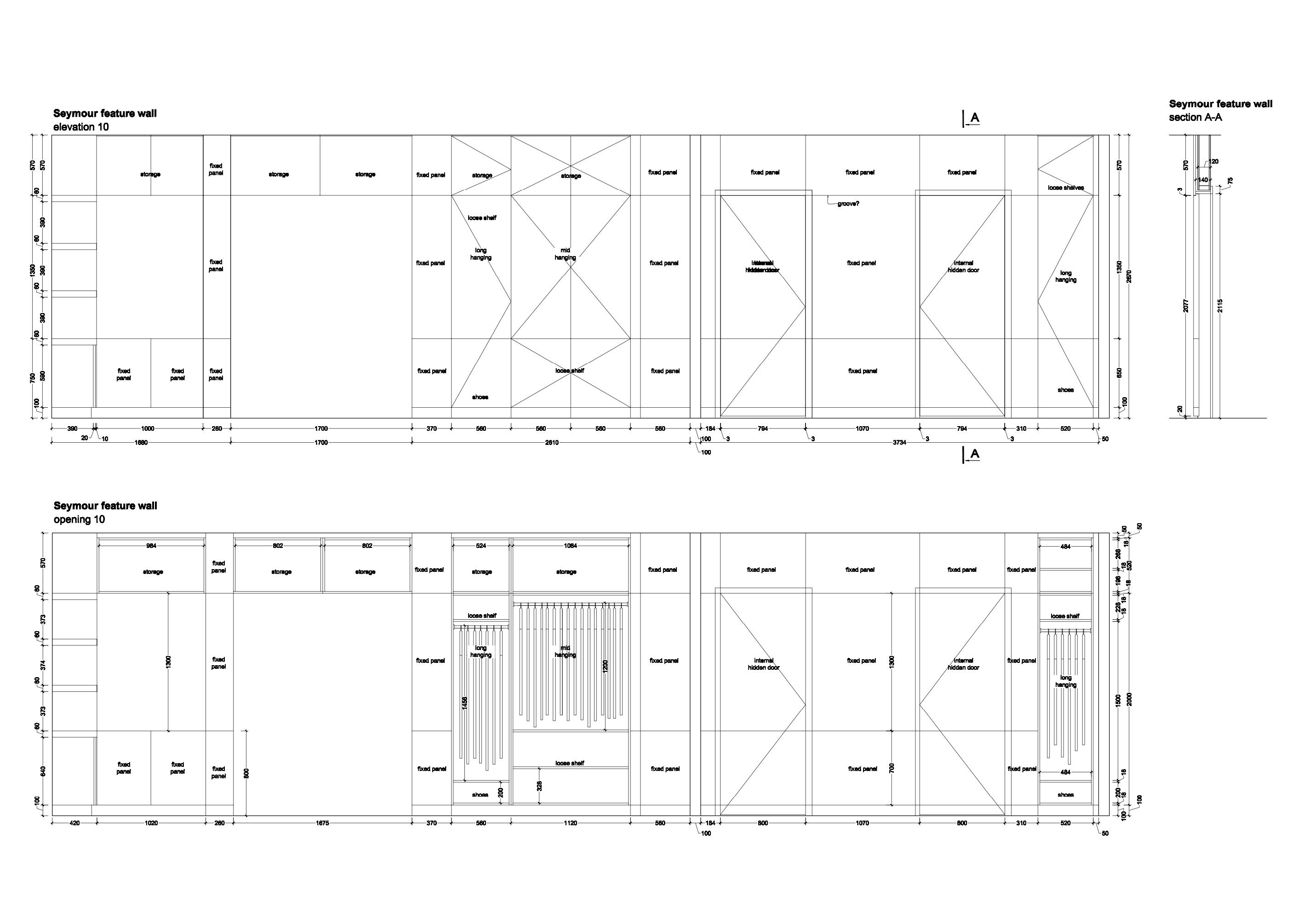 CAD drawing